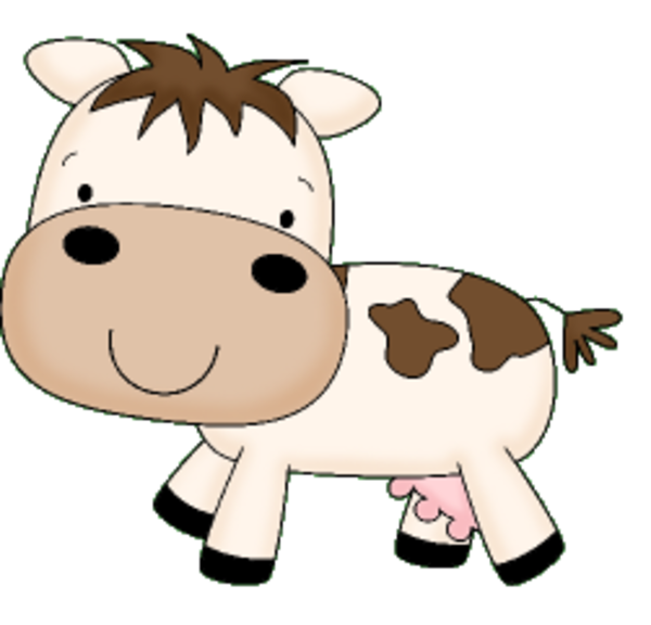Cow | Free Images at Clker.com - vector clip art online ...
