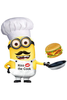Kiss The Cook Clipart Image