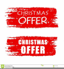 Free Christmas Banners Clipart Image