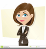 Smart Girl Cartoon Image