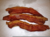 Cooked Thick Bacon Image