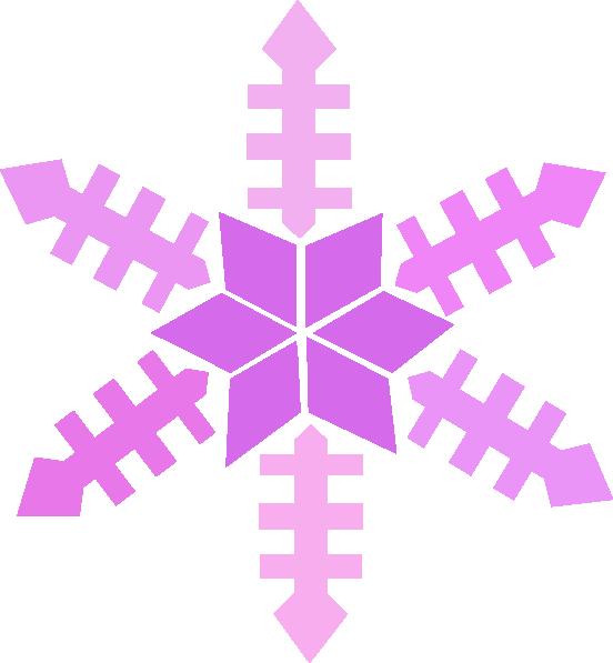 Snowflake Clip Art at Clker.com - vector clip art online, royalty free ...