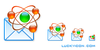 Atomic Mail Sender Icon Image