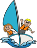Sailing Kids Svg Med Image
