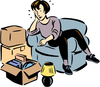 Packing Tips Clipart Image
