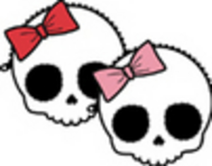 Cute Skulles Large Msg Image