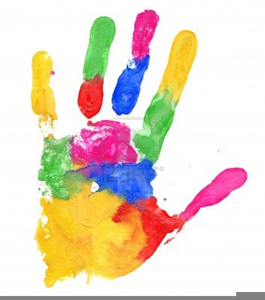 Color Handprint Clipart | Free Images at Clker.com ...