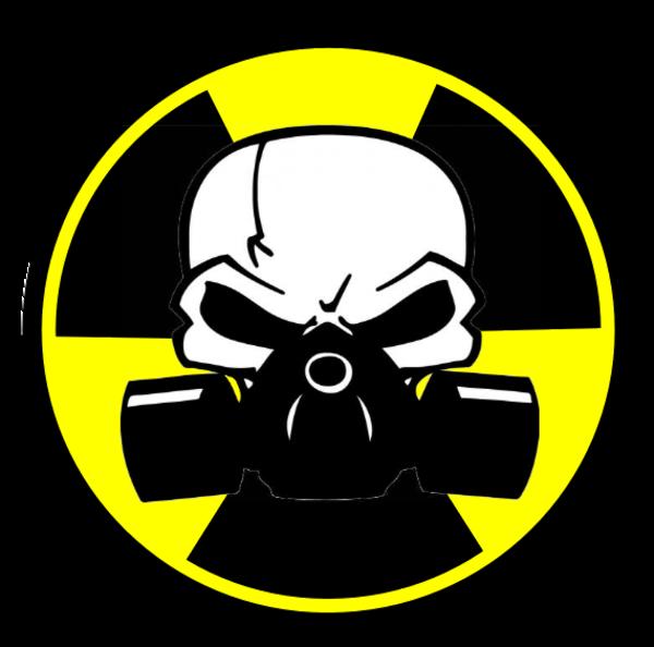 toxic sign and skulls - photo #16