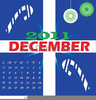 Free December Month Clipart Image