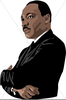 Animated Martin Luther King Clipart Image