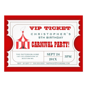 Circus Ticket Image