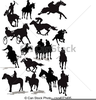 Horse Racing Clipart Image