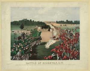 Battle Of Ridgeway, C.w. Image