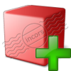 Cube Red Add Image