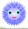 Spikey Ball Clipart Image
