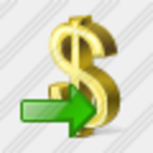 Icon Dollar Export Image