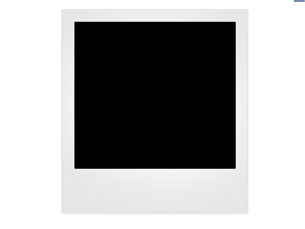 Blank Polaroid Frame | Free Images at Clker.com - vector clip art ...