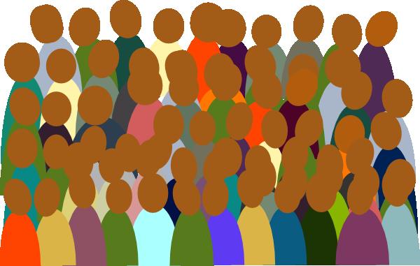 small crowd clip art at clker com vector clip art online royalty rh clker com crowd clipart crowd clipart