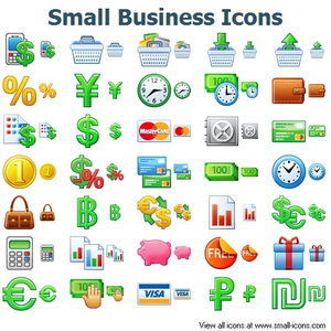 Small Business Icons Image