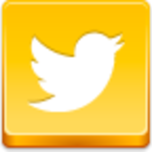Free Yellow Button Twitter Bird Image