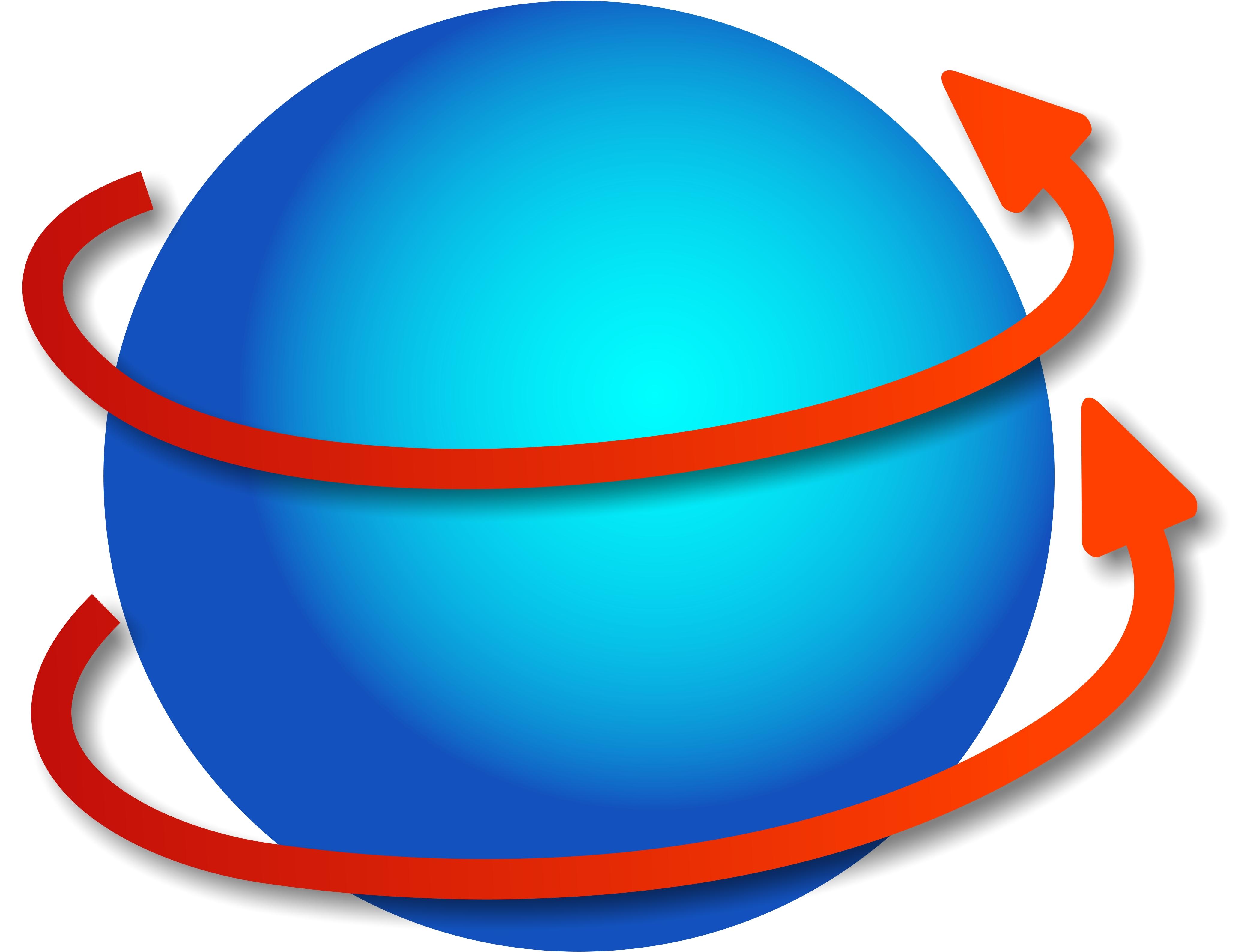 spinning globe clip art animation - photo #49