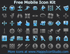Free Mobile Icon Kit Image