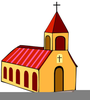 Clipart Of Churchs Building Image