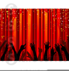 Free Clipart Stage Curtains Image