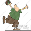 Royalty Free Bowling Clipart Image