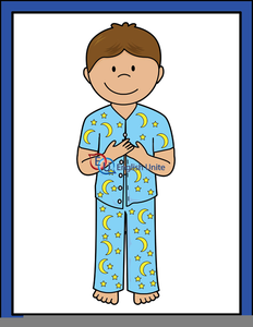 putting on pajamas clipart free images at clker com vector clip rh clker com clip art pajamas black and white red pajamas clipart