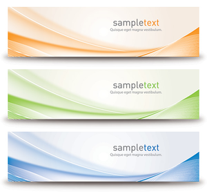 Abstract Banners Design Image