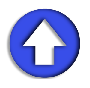 Blue Arrow Up Image