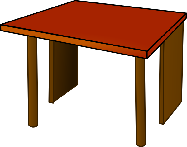 Small dining table transparent background free png images - Table Top Wood Clip Art At Clker Com Vector Clip Art