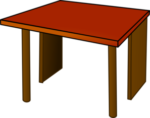 Table Top Wood Clip Art