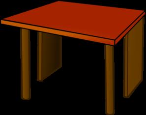 table top wood clip art at clker com vector clip art online rh clker com table clipart free table clipart free