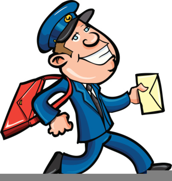 Clipart Postal Worker Free Images At Clker Com Vector Clip Art