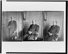 [three Portraits Of William Jennings Bryan At The Grand Hotel, Paris, All Three-quarter Length: 1) Seated, Facing Front; 2) Seated, Facing Left; And 3) Standing, Facing Front] Image