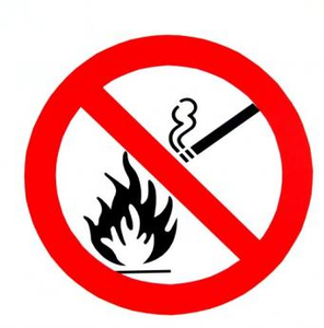 Flammable No Smoking Image