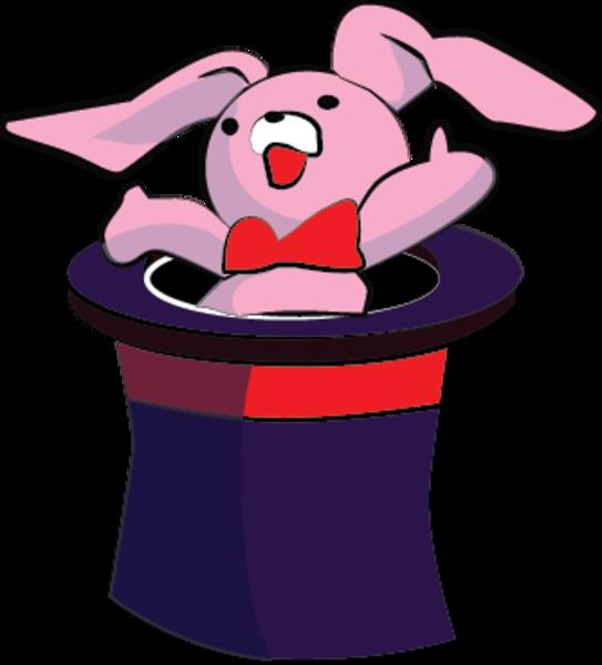 Magic Hat Rabbit | Free Images at Clker.com - vector clip ...