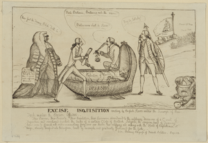 Excise Inquisition Erecting By English Slaves Under The Scourge Of Their Task-masters The Excise Officers Image