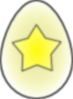 Easter Egg Star Clip Art