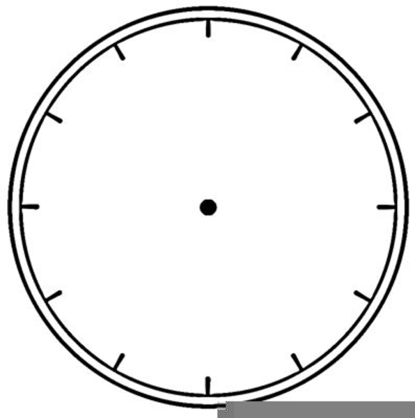 Blank Analog Clock Clipart   Free Images at Clker.com ...