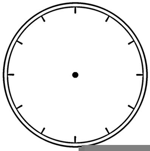 Blank Analog Clock Clipart | Free Images at Clker com