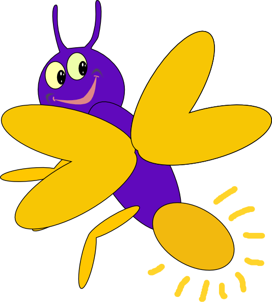 purple firefly 6 clip art at clker com vector clip art online rh clker com fireflies in jar clipart