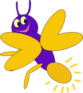 purple firefly 6 clip art at clker com vector clip art online rh clker com firefly insect clipart firefly clip art to print