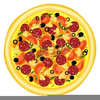 Pepperoni Slices Clipart Image