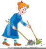 Sweeping The Floor Clipart Image