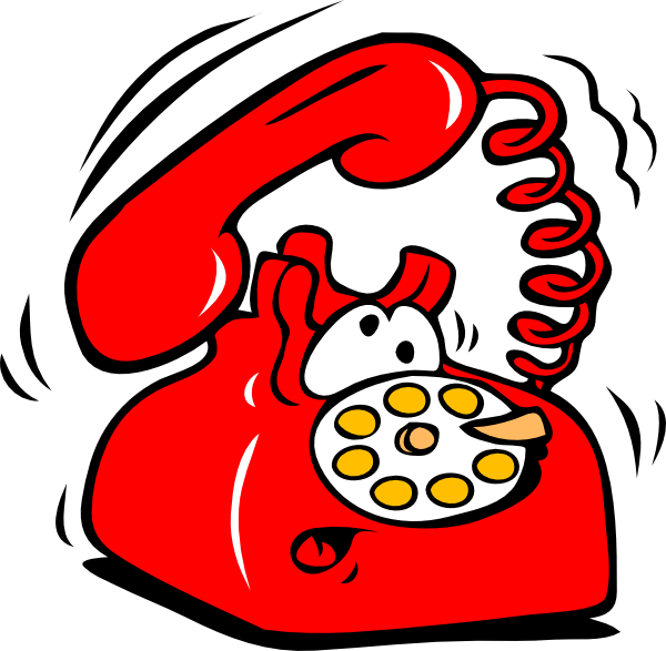Ringing Phone Clip Art at Clker.com - vector clip art online, royalty ...