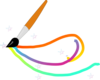 Magic Paintbrush Clip Art