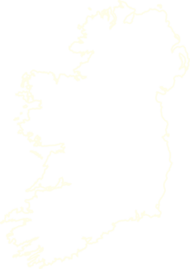 Ireland Outline Cream Clip Art
